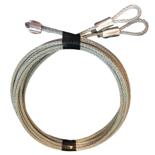 Pair Of 7′ Garage Door Cable Replacement For Torsion